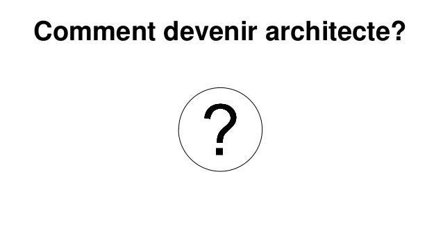 Comment devenir architecte?