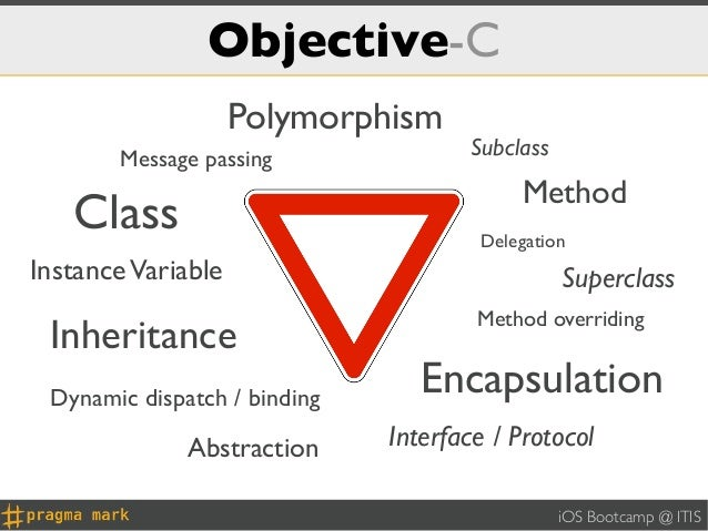 Objective-C                    Polymorphism       Message passing               Subclass                                  ...