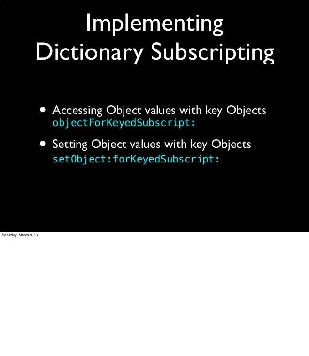 c array as dictionary key