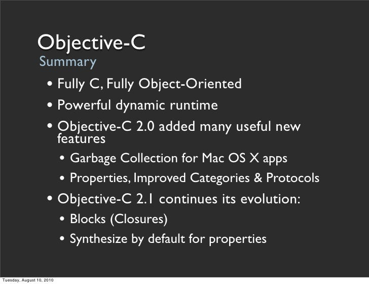 objective c synthesise The key to the success of lion in this multi-objective synthe- sis process is that it   atomic formulae from lag and a set c ⊂ s of undesirable states the set of.