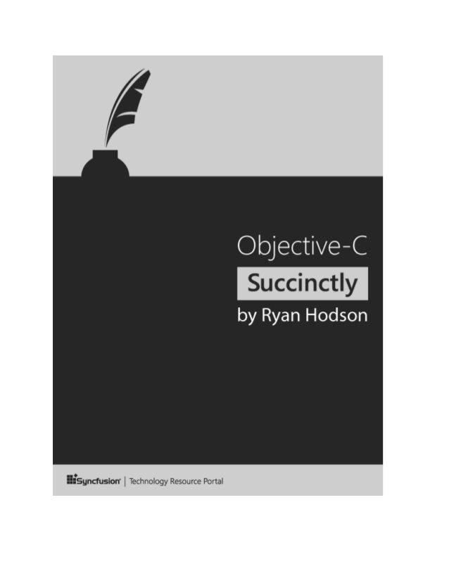Objective c succinctly 2