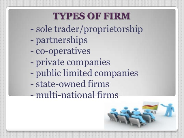 objectives of firms Therefore, one of the main objectives of firms is to maximize profit profit is the reward for the risk-bearing function of the entrepreneur.