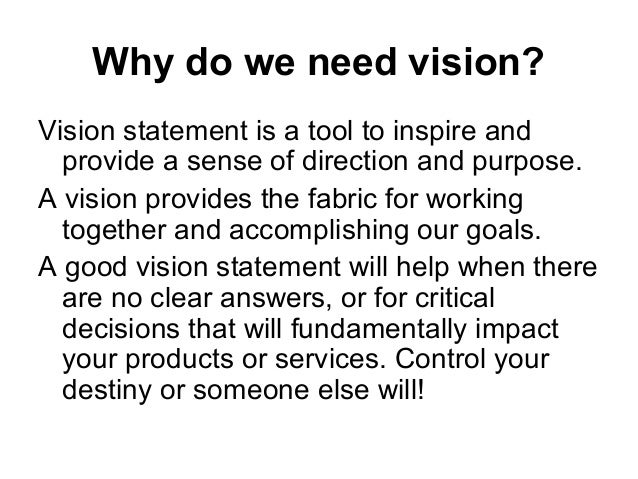 what is the difference between a mission statement and vision statement and goal and aim and