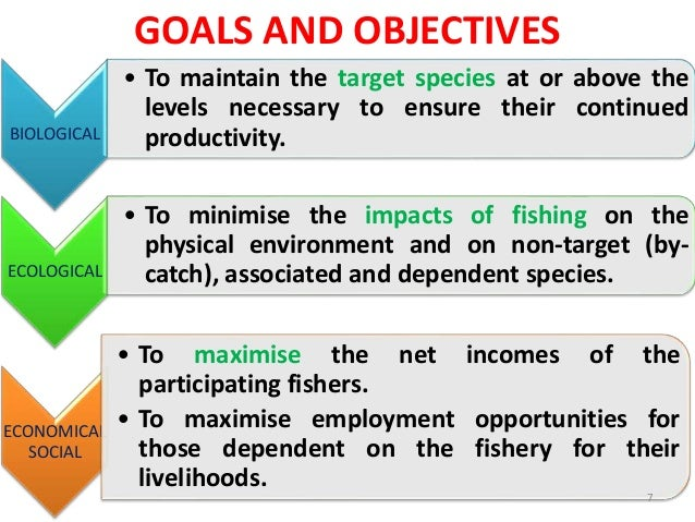 sustainable management and development of fisheries They guide economically viable and environmentally sustainable fisheries a management plan includes important considerations for all aspects of the fishery, such as.