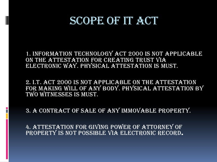 Information Technology Act 2000 Pdf In Hindi