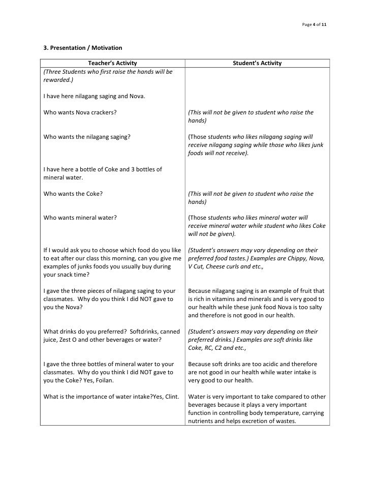 how to formulate objectives in lesson plan