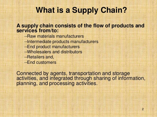 conflicting objectives supply chain Introduction to supply chain management david simchi-levi philip kaminsky edith simchi-levi  conflicting objectives in the supply chain 1 purchasing • stable volume requirements • flexible delivery time • little variation in mix • large quantities 2 manufacturing.