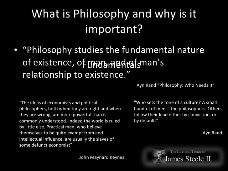 Objectivism Philosophy For Life On Earth