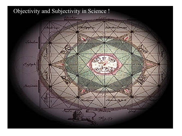 objectivity and subjectivity in science Your definition seems to point to science is objective or if something is objective then science must be involved to prove it  unlike objectivity, subjectivity is .