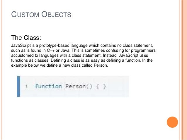 how to create instance of class in javascript