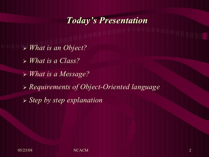 a look at the object oriented language sather
