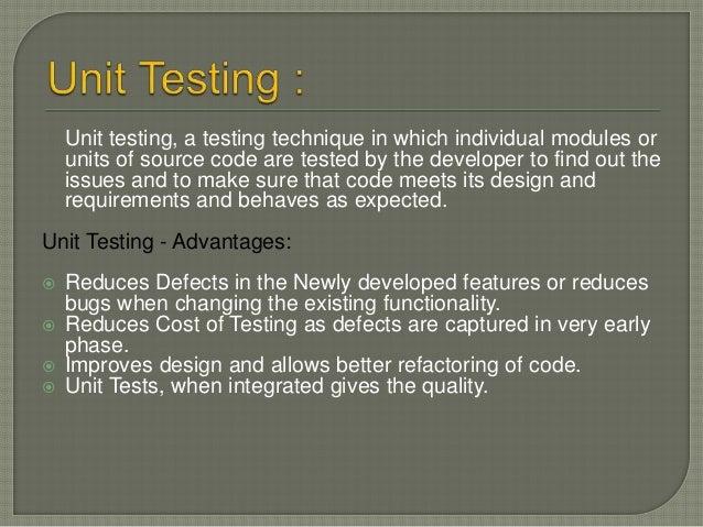 Unit Testing Techniques: Black Box Testing White Box Testing Gray Box Testing