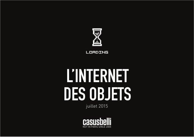 L'INTERNET DES OBJETSjuillet 2015