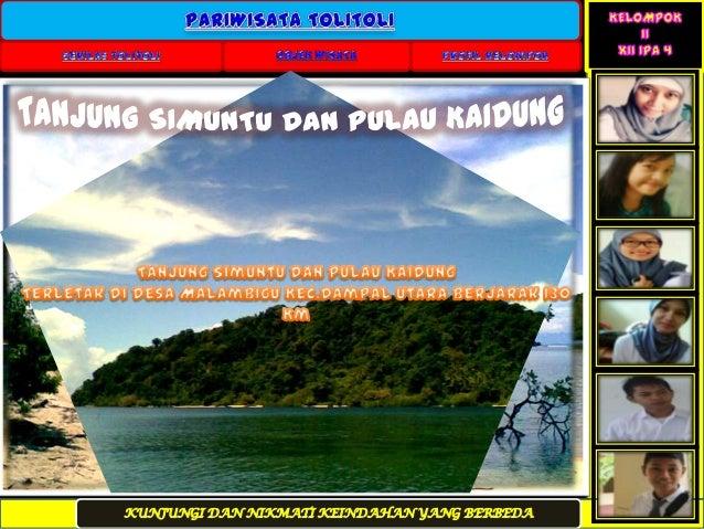 Objek Wisata Tolitoli Sulawesi Tengah Indonesia