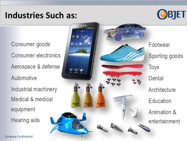 Objet 3D Printing Systems