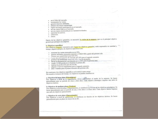 Objetivos, eficiencia y eficacia Slide 3