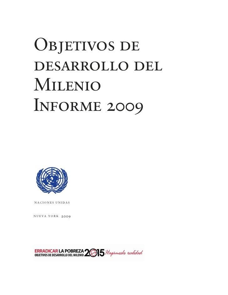 Objetivos D E Desarrollo Del Milenio Slide 3