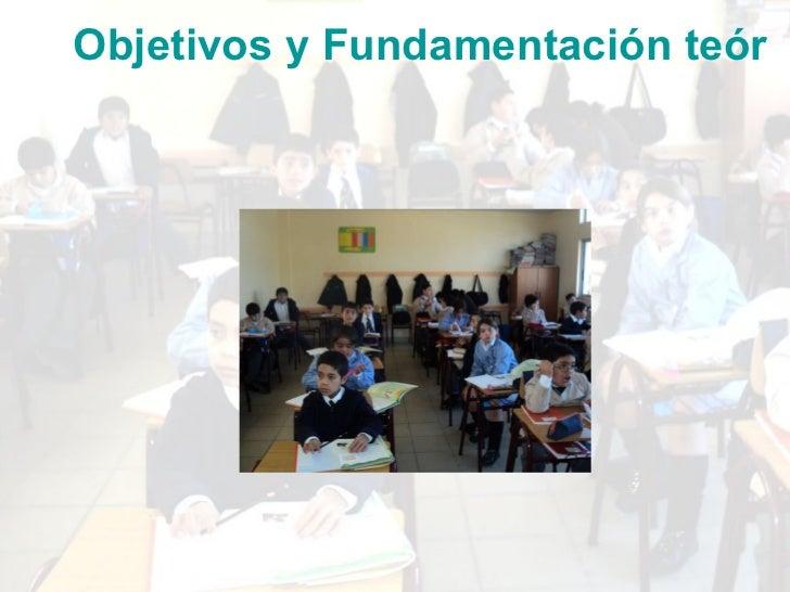 <ul><li>Objetivos y Fundamentación teórica del Diagnóstico </li></ul>