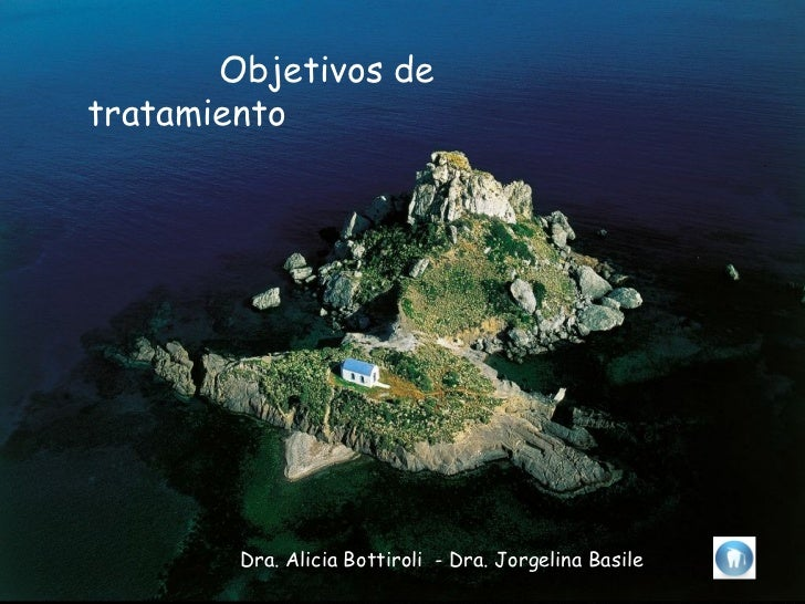Objetivos detratamiento        Dra. Alicia Bottiroli - Dra. Jorgelina Basile