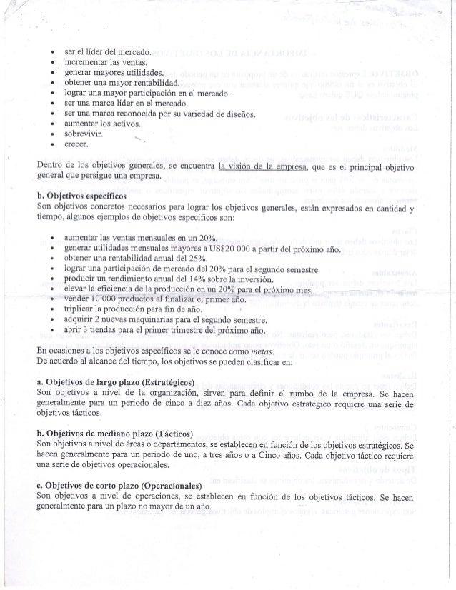 IMPORTANCIA DELOS OBJETIVOS Slide 2