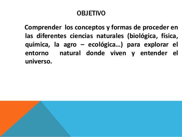 Objetivos por grados ciencias naturales - Ambientadores naturales para la casa ...