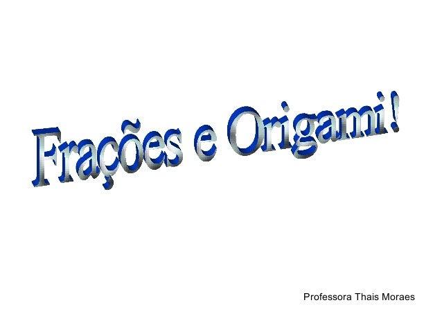 Professora Thais Moraes