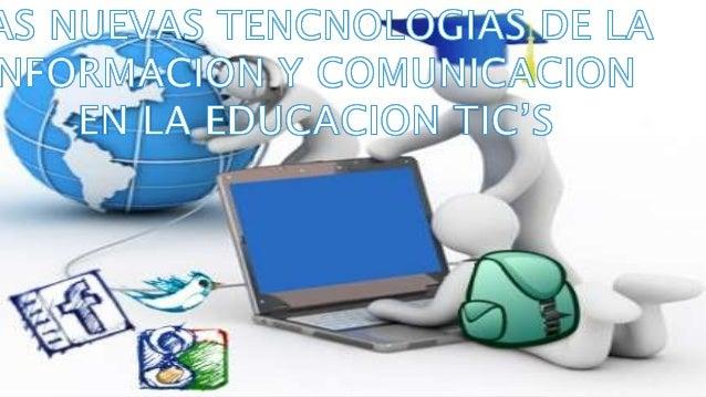 LAS TIC'S EN LA EDUCACION FORTALECIMIENTO DE LA ENSEÑANZA- APRENDIZAJE REDES DE APRENDIZAJE CALIDAD EDUCATIVA ESPACIO ABIE...
