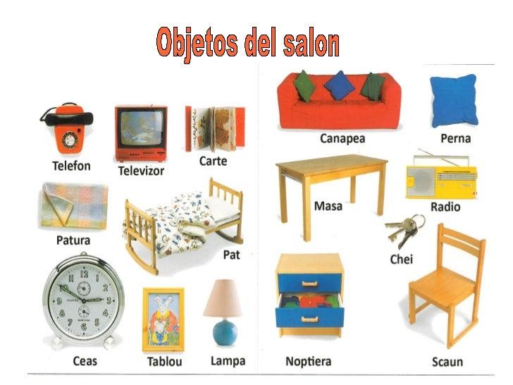 objetos de una casa