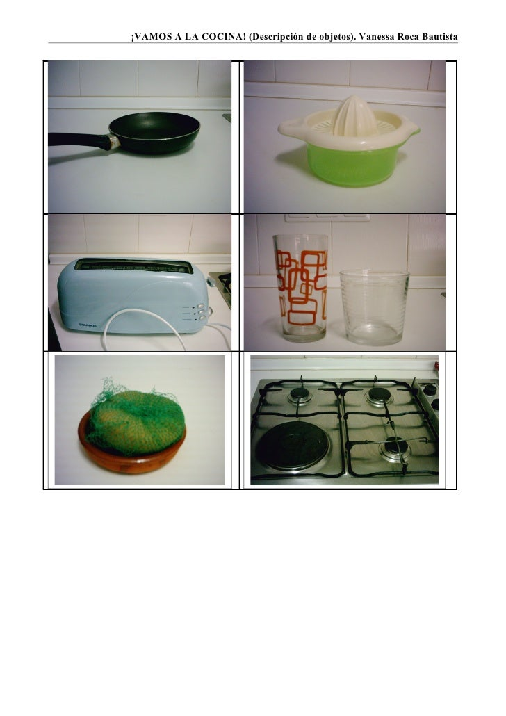 objetos de la cocina objetos de la cocina