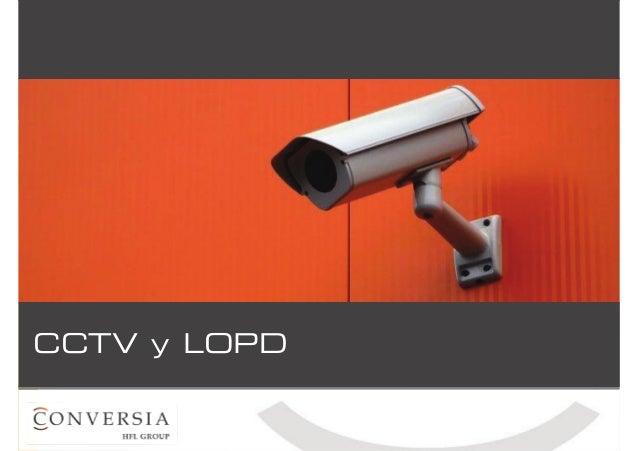 CCTV y LOPD