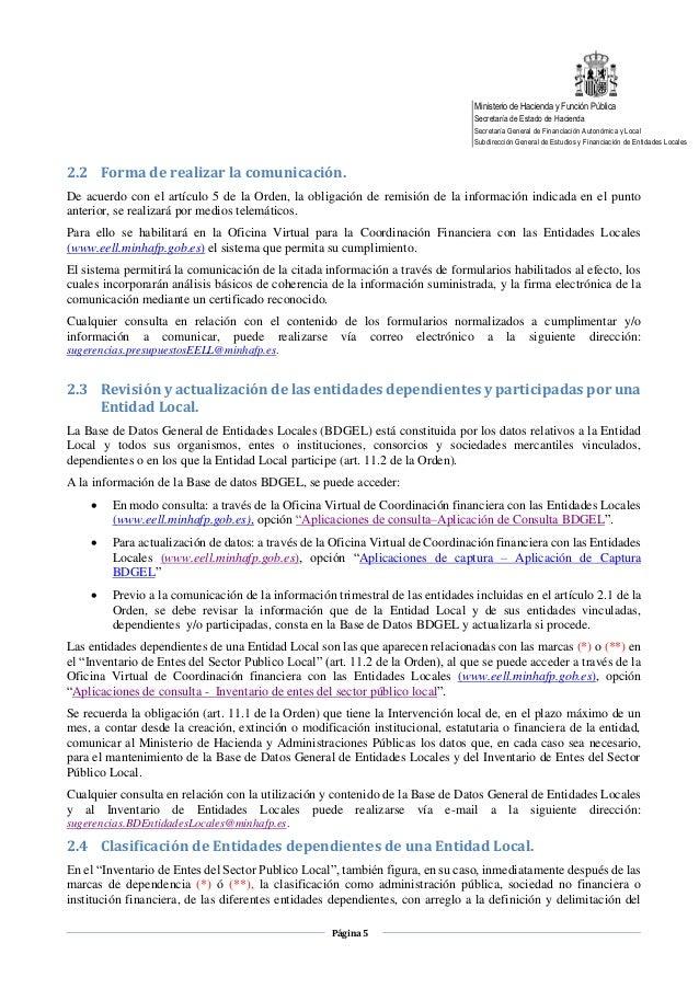 Obligaciones suministro de informaci n 2017 - Oficina virtual entidades locales ...