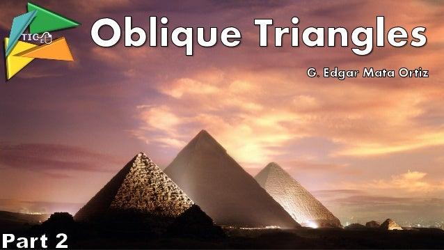 El triángulo rectángulo La resolución de problemas en los que se presentan triángulos rectángulos es sencilla; se aplica e...
