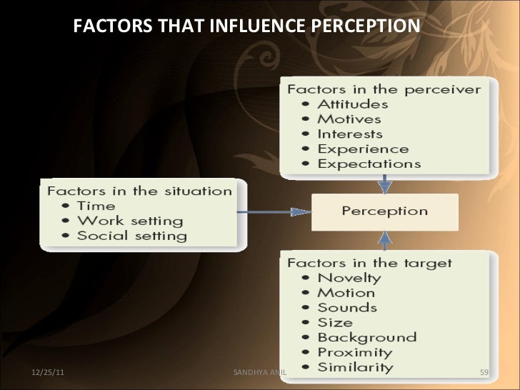 1.3 discuss the factors which influence individual behaviour at work