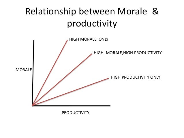 the relationship between satisfaction and productivity in work environment Relationship between working conditions and job satisfaction: the case of  workplace, noise and interference, gases, radiation, dust, smoke and other harmful .