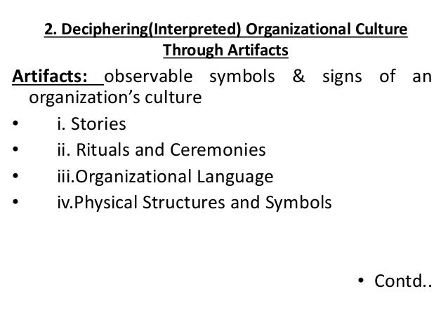 describe observable and non observable aspects of organizational culture An increasing number of organizations in the humanitarian sector  not much  emphasis, however, is given to the unobservable aspects of.