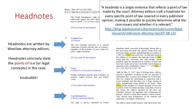 Mapp v. Ohio case brief?