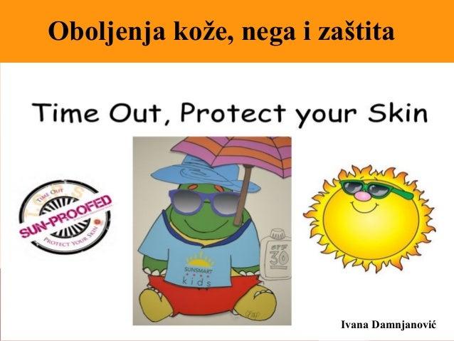 Ivana Damnjanović Oboljenja kože, nega i zaštita
