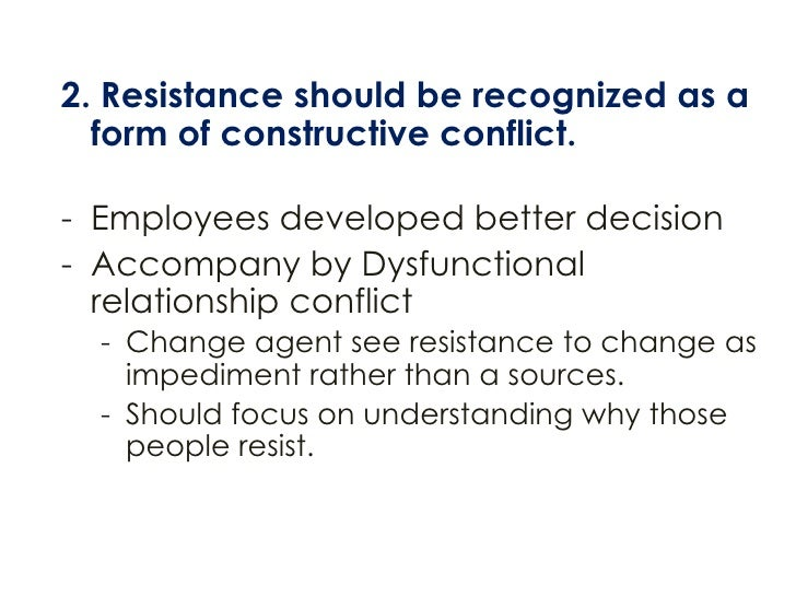 what is resistance to change definition