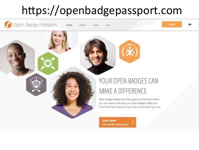 Open Badge Passport - Eric Rousselle Slide 2