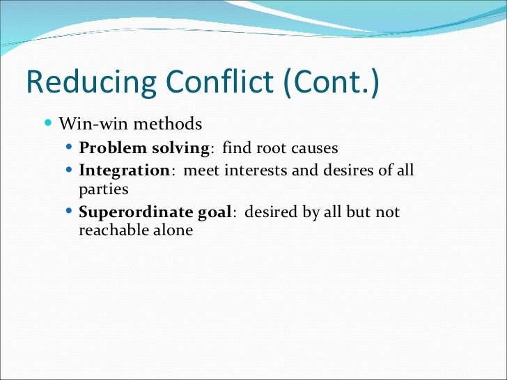 conflict and resolving issues sources of conflict and conflict resolution essay