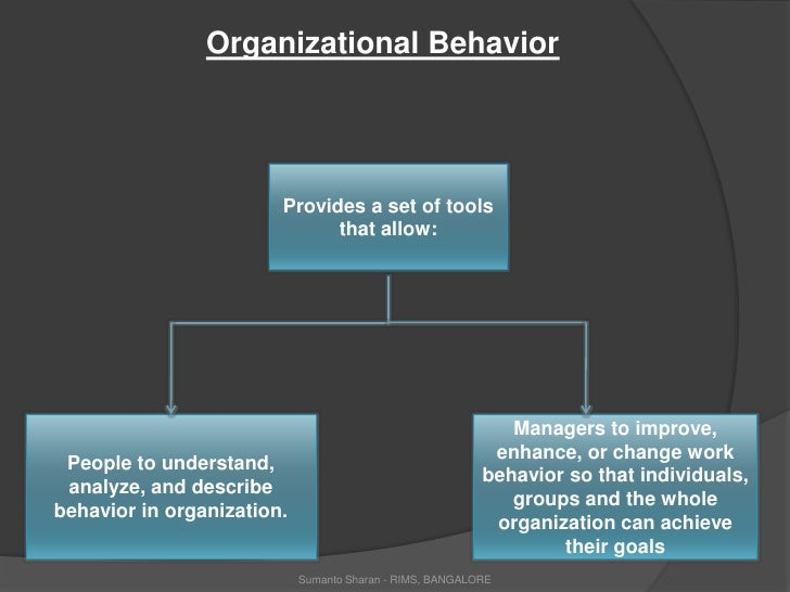 Organizational behaviour presentation organizational behaviorbr toneelgroepblik Images