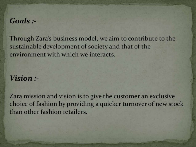 plan de estudios creer oler  Comparison of Vision, Mission & Goals of different companies in cloth…