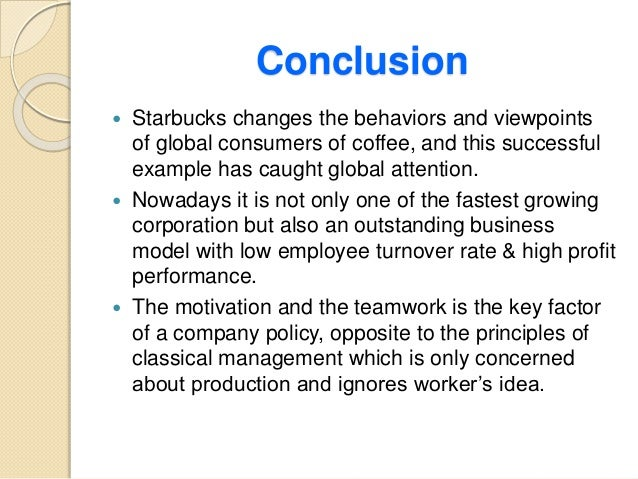 starbucks coffee and motivational theories Transformational leadership is defined as simply leadership built upon advancement of higher levels of moral and motivation on  leadership strategies: leadership style  school on the leadership model and have chosen starbucks coffee from the list we had to chose from so.