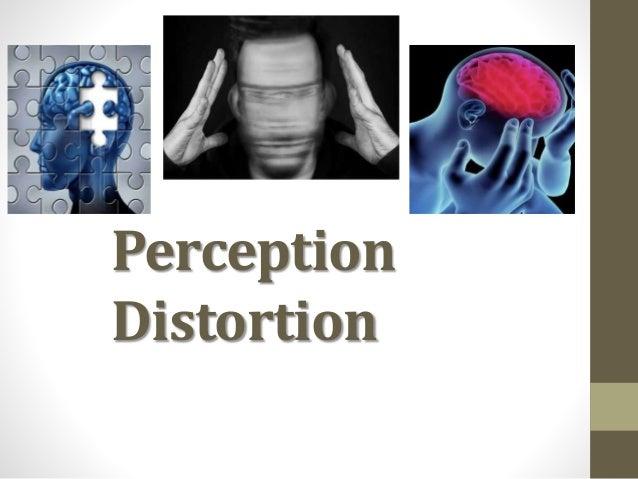 Perception Distortion