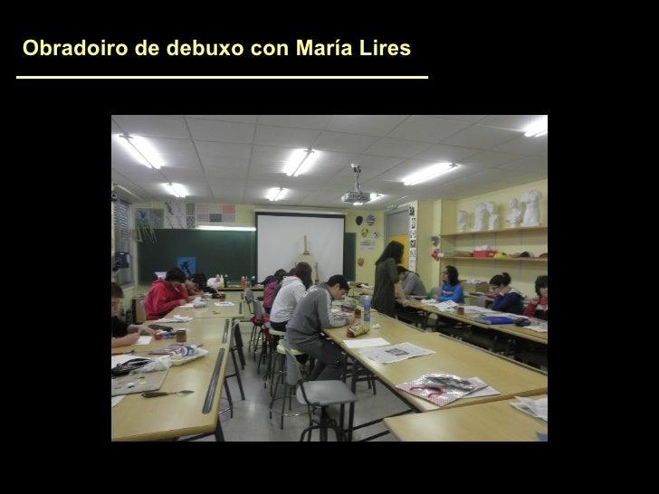 Obradoiro de debuxo con María Lires