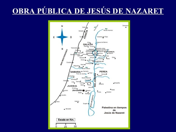 OBRA PÚBLICA DE JESÚS DE NAZARET