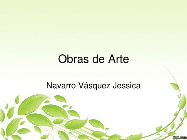 Obras de Arte Navarro Vásquez Jessica