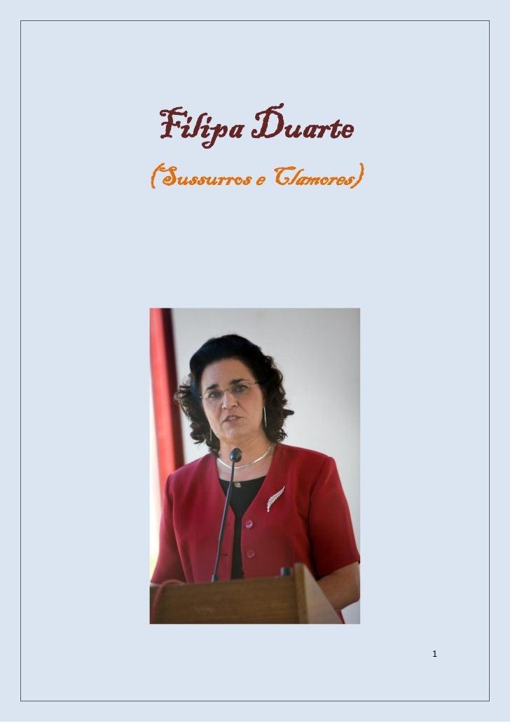 Filipa Duarte(Sussurros e Clamores)                         1