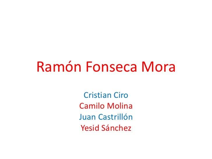 Ramón Fonseca Mora<br />Cristian Ciro <br />Camilo Molina<br />Juan Castrillón<br />Yesid Sánchez<br />