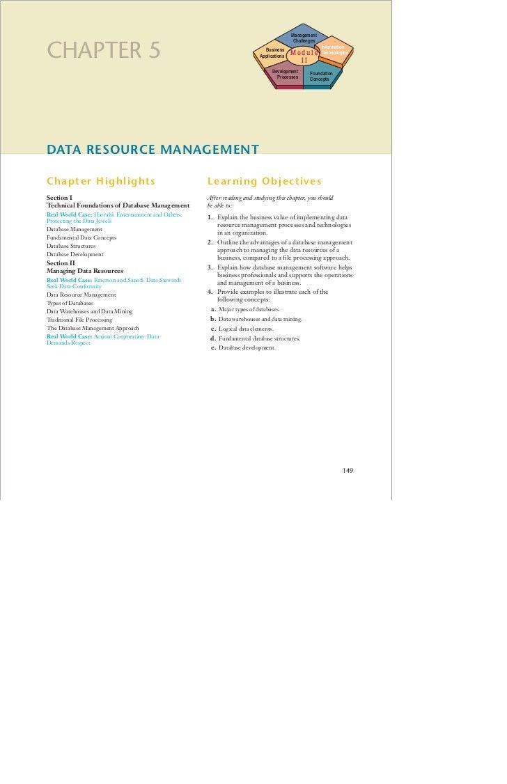 Management                                                                                           ChallengesCHAPTER 5  ...
